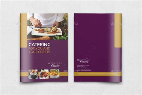 Catering Brochure Templates by Catering Brochure Template 20 Pages By Owpictures