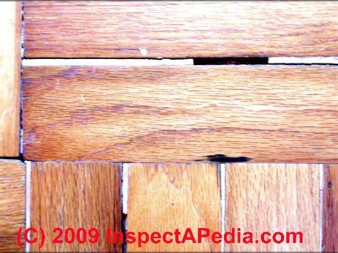 Wood floor types, damage, diagnosis & repair damaged wood