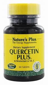 Nature U0026 39 S Plus Quercetin Plus With Bromelain And Vitamin C -- 60 Tablets