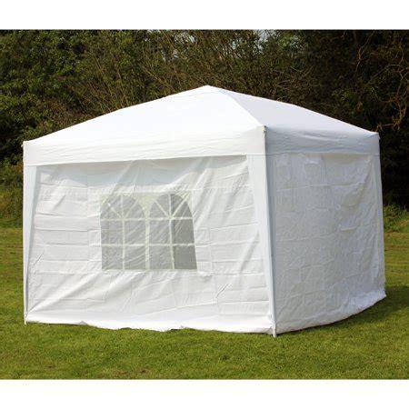 10x10 canopy with walls 10 x 10 palm springs ez pop up white canopy gazebo tent