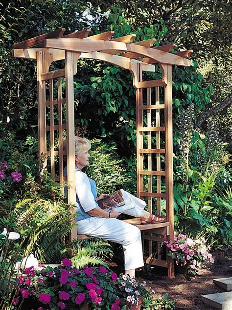 gardens with arbors how to install a garden arbor