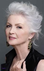 Coupe Cheveux Gris Femme 60 Ans : coiffures femmes 60 ans 2019 ~ Voncanada.com Idées de Décoration