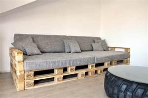 Garten Couch Lounge : europaletten sofa bauen ~ Indierocktalk.com Haus und Dekorationen