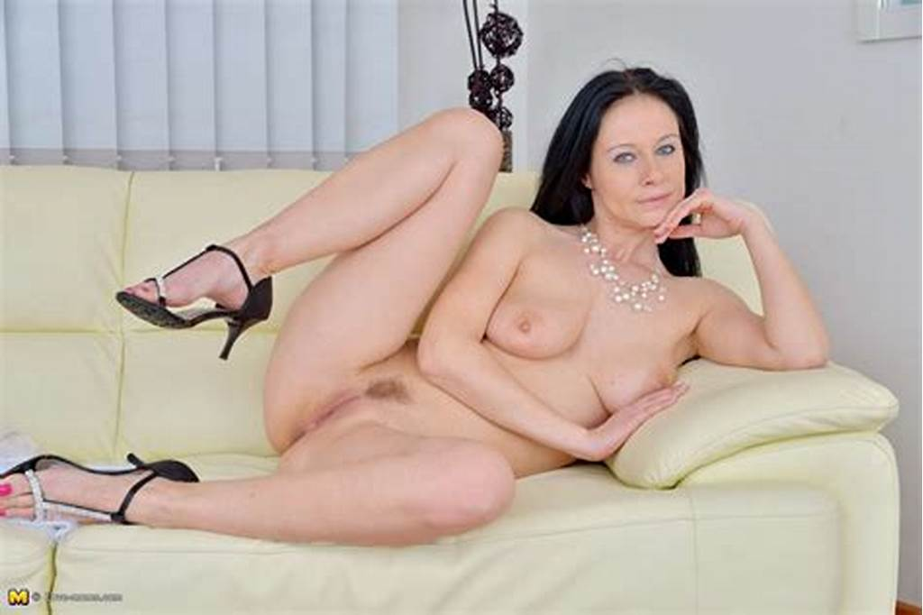 #Brunette #Sexy #Milf #Sally #Walker #Getting #Ready #For #Action