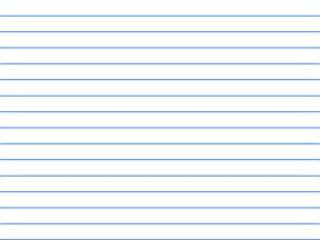 Ruled Lined Paper Template