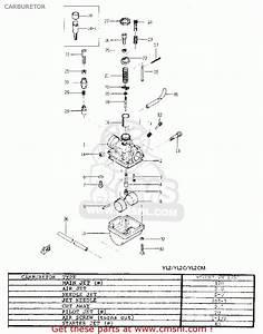 Yamaha Yl2 1967 1968 Usa Carburetor