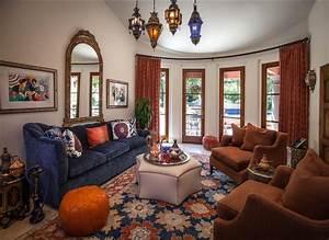 Morocco Style - Mediterranean - Living Room - Los Angeles