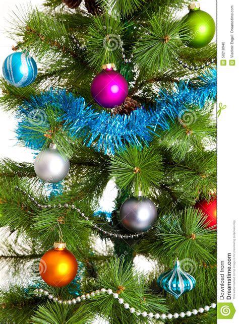 christmas tree decorations 2016 happy new year stock