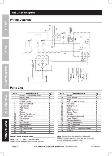 chicago electric winch wiring diagram repair wiring scheme