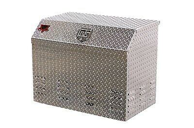 truck trailer rv generator diamond plate tool box style