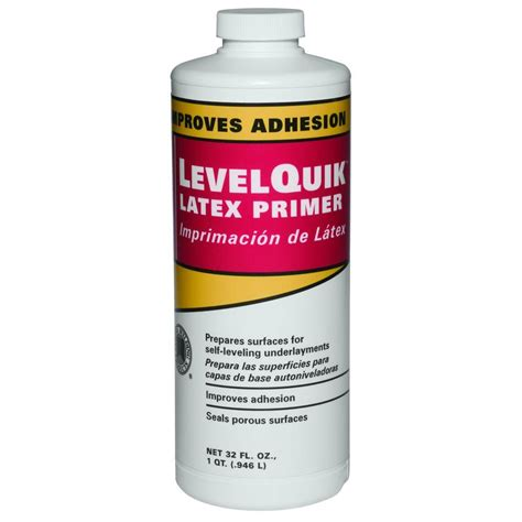 floor leveler home depot custom building products levelquik 1 qt primer cpqt