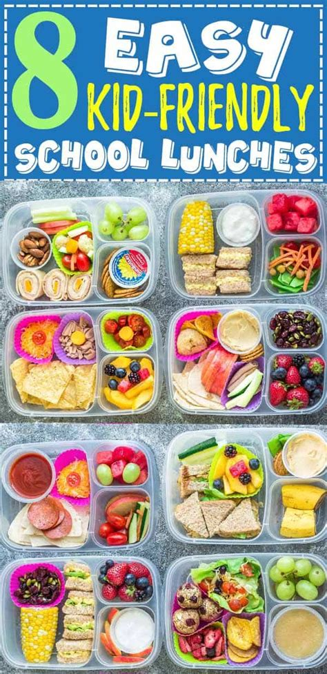 Then staff food editor dawn perry and emily mckenna gave brook some easy meal ideas, plus strategies for getting the family to actually eat them. 8 Healthy & Easy School Lunches | Kid Friendly Lunch Ideas