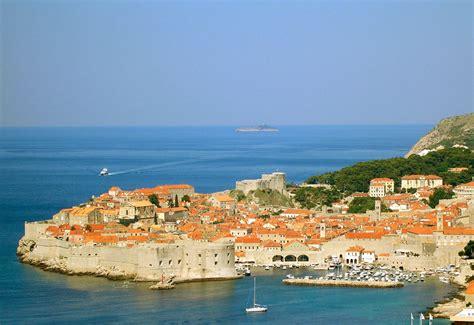 Der Hafen von Dubrovnik (Kroatien, Hrvatska, Croatia, Croatie)