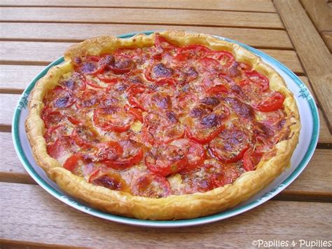 que faire avec des pates fraiches tarte 224 la tomate