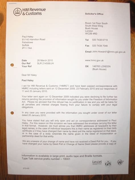 Tax Refund Tax Refund Claim Letter