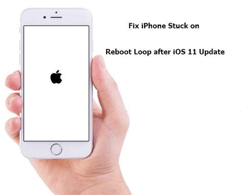 fix ios 11 boot loop on iphone without data loss