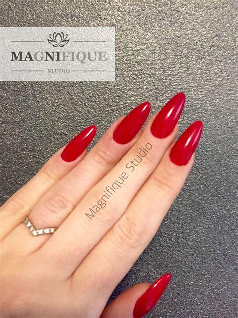 rote nägel design n 228 gel rot mandel nails nail design nagelschere fingern 228 gel und nageldesign
