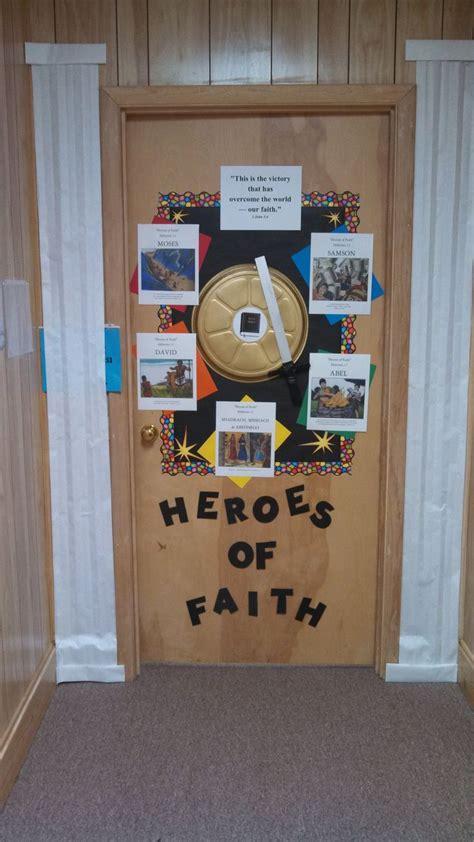 heroes  faith bulletin boards sunday school