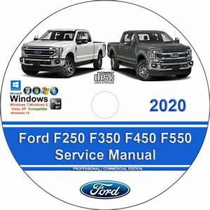 Ford F250 F350 F450 F550 2020 Factory Workshop Service