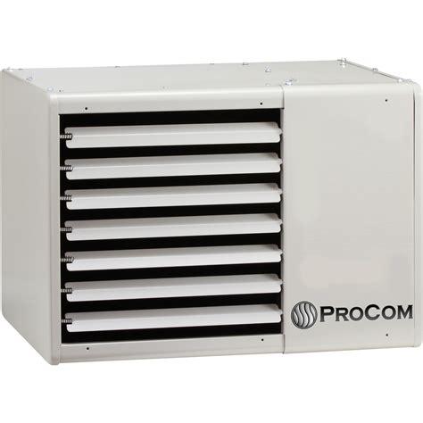 gas garage heaters procom gas garage workshop heater 75 000 btu
