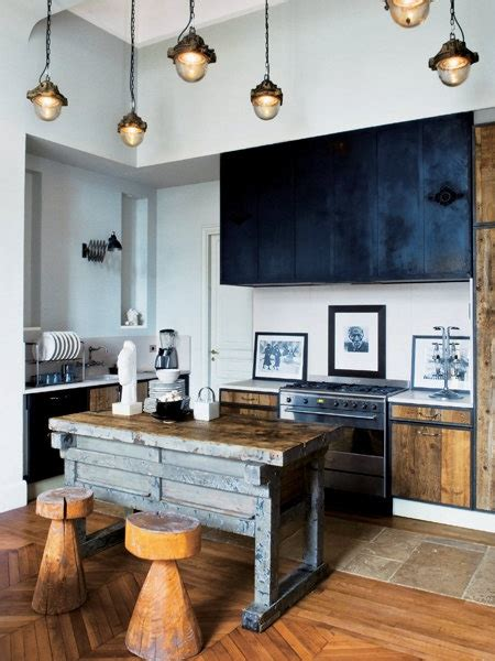industrial kitchen design ideas good home construction creating a rustic industrial look for your kitchen