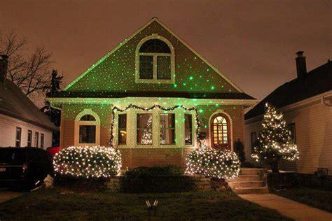 Laser Christmas House Lights by Laser Christmas Lights Illuminator Laser Lights