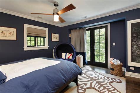 navy kids room transitional boy 39 s room benjamin moore van deusen blue 2 design group