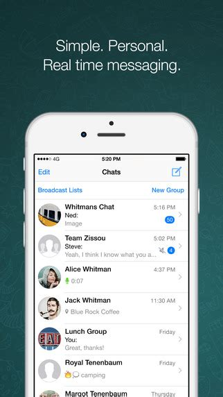whatsapp messenger on the app store on itunes