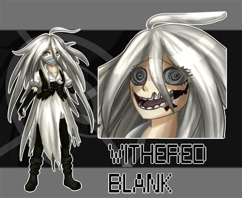 Withered Blank By Wolf-con-f On Deviantart