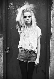 Girl cute style hipster mypost Grunge blonde long hair Alternative look fashion clothing hell ...