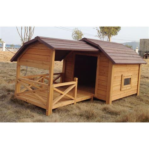 niche exterieure pour chien niche pour chien cheyenne avec terrasse