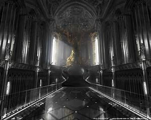 Massive Throne Room ArtStation Final Fantasy XV