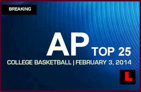 ap top  college basketball  ncaa rankings deliver