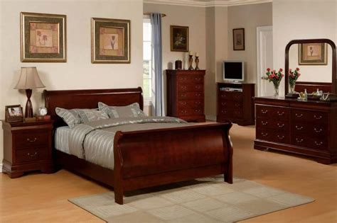 cherry wood bedroom ideas  pinterest black