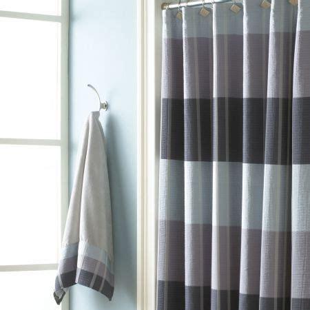 fairfax slate shower curtain