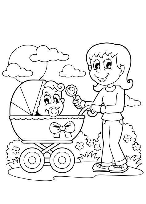 Kleurplaat Geboorte Baby by Kleurplaat Baby Meisje Krijg Duizenden Kleurenfoto S