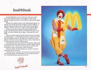 Here U2019s One Of Tv Ronald Mcdonald U2019s Pages In The 1992