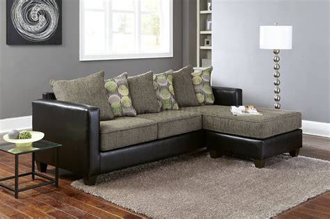 3000 sectional sofa in grey fabric black bi cast best sofas decoration