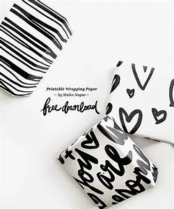 maiko nagao free printable wrapping paper hand With hand lettering paper