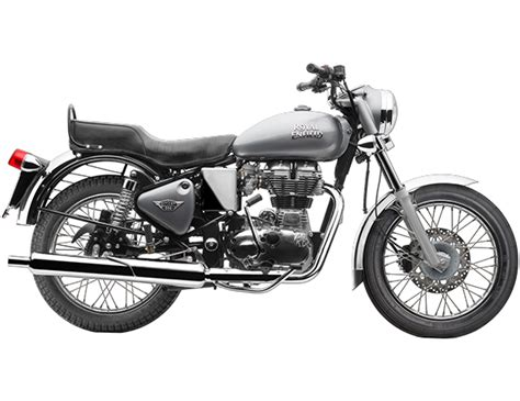 Enfield Bullet 350 Image by Royal Enfield Bullet 350 Es Silver Press Image