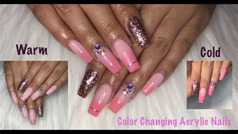 color changing acrylic nails how to color changing acrylic nails