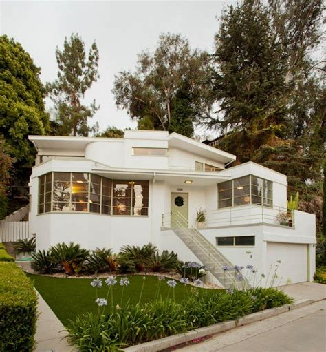 142 best images about streamline moderne houses on house deco style and