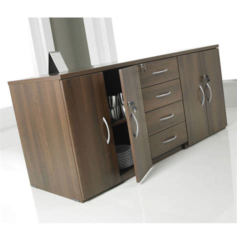 Low Wooden Sideboard by Low Level Sideboard Unit Meeting Room Cupboard Wooden
