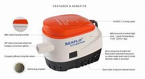 750 Gph Automatic Bilge Pump - Seafresh Marine