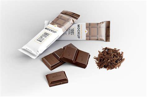 All files consist smart layers for easy edit. 25+ Elegant Chocolate Bar Mockup PSD Templates | Mockuptree