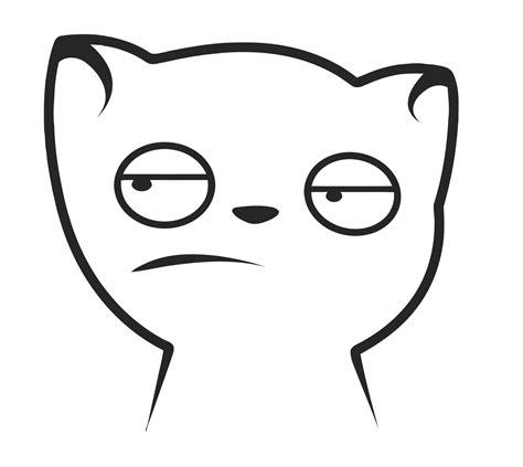 Meh Face Meme - image y cat meh cat l png teh meme wiki fandom