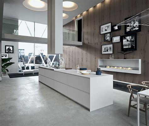 ilot central pour cuisine ilot central pour une grande cuisine blanche et bois