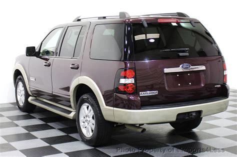 Ford Explorer Passenger by 2006 Used Ford Explorer Explorer V6 4wd Eddie Bauer 7