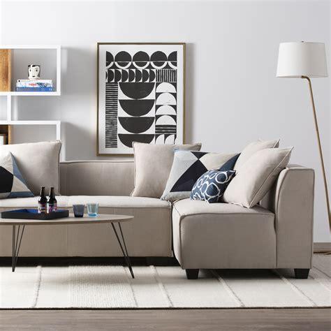 modern contemporary living room furniture allmodern
