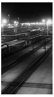 photography, Monochrome, Railway, Train station, Train ...